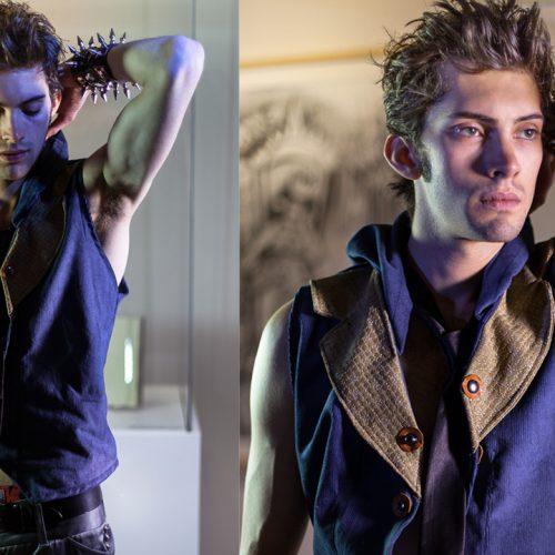 Model: Luke Arrington Stylist: Amanda Swafford