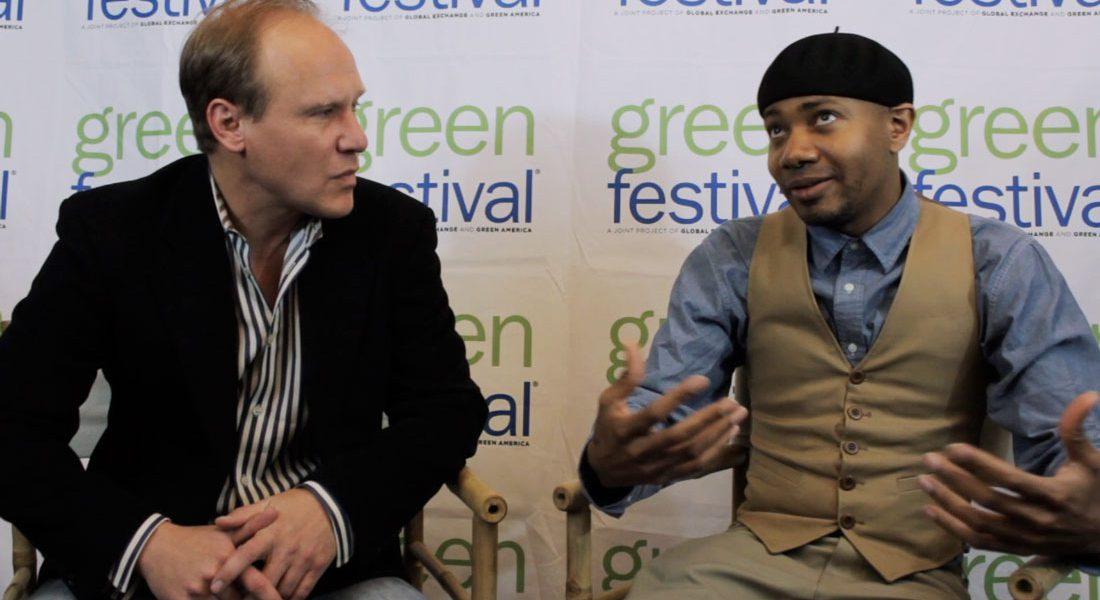 DJ Spooky Interviewed by James Hanusa at Green Festival New York City