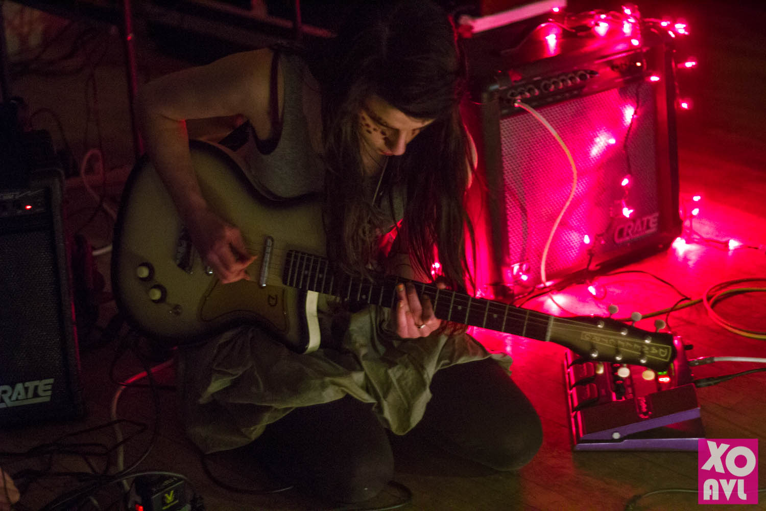 Apothecary on Eagle Street in Asheville with drone music performances