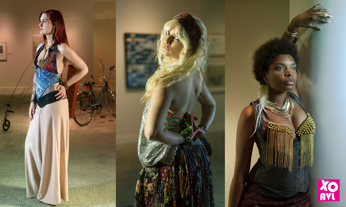 Model: Amber Vess, Kristin Ker, Debrissa McKinney Stylist: Amanda Swafford