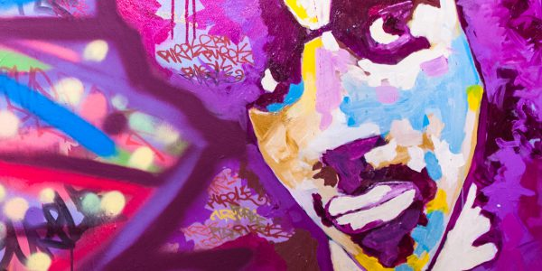 Artist Formally Known as Prince in Gonzo Style