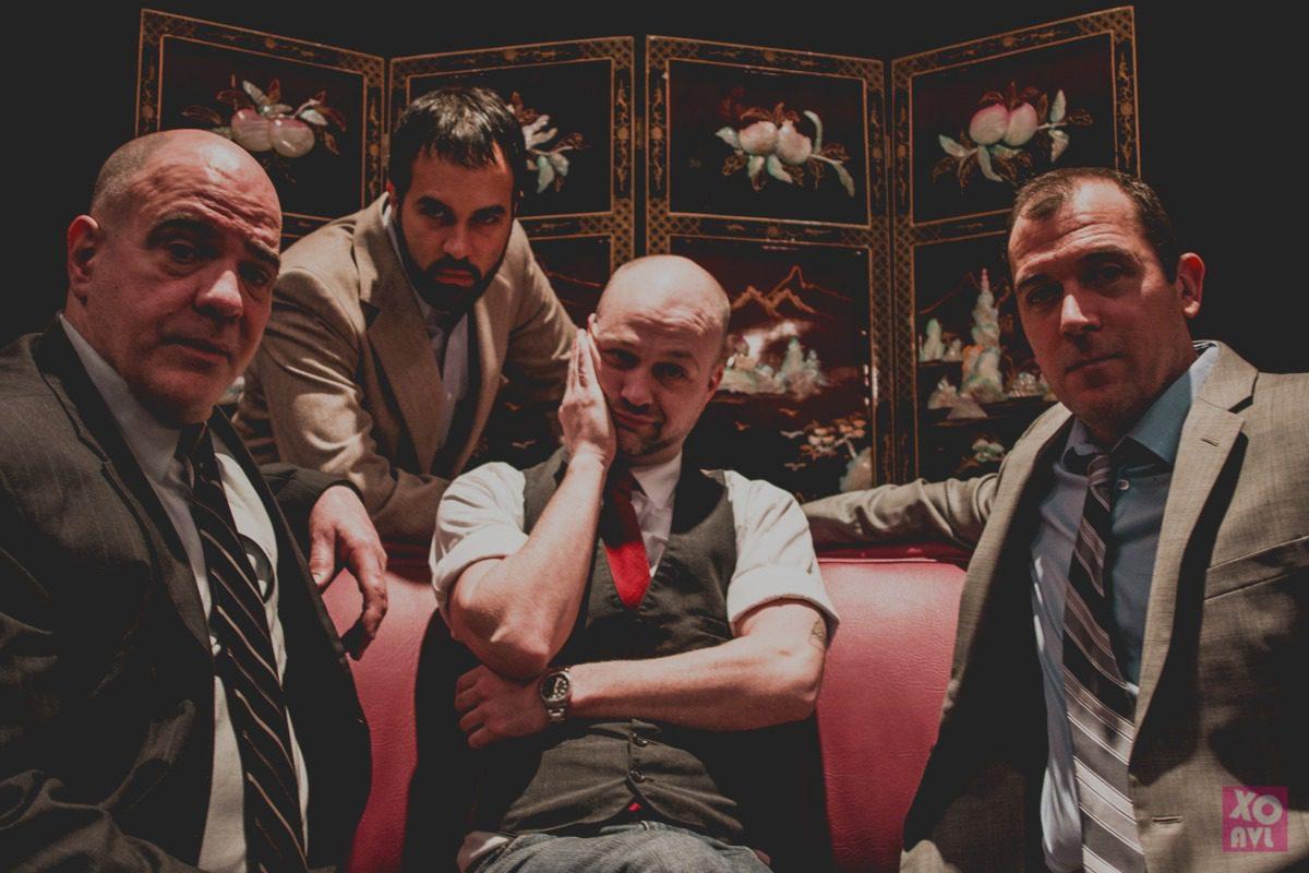 Alphie Hyorth, Anthony Abraira, Ryan Travers and Dan Clancy star in Glengarry Glen Ross